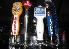 the coach sports bar, webster, new york, specials beer taps