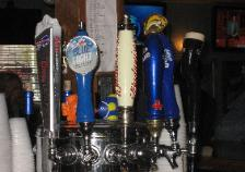 the coach sports bar, webster, new york, special beer taps